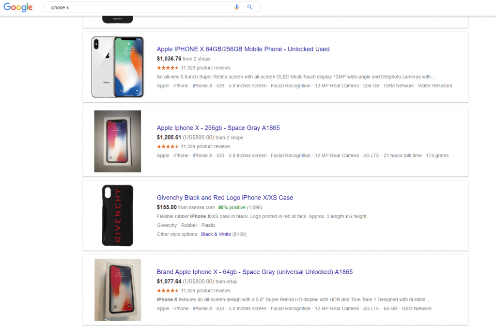 How to price your product with google shopping