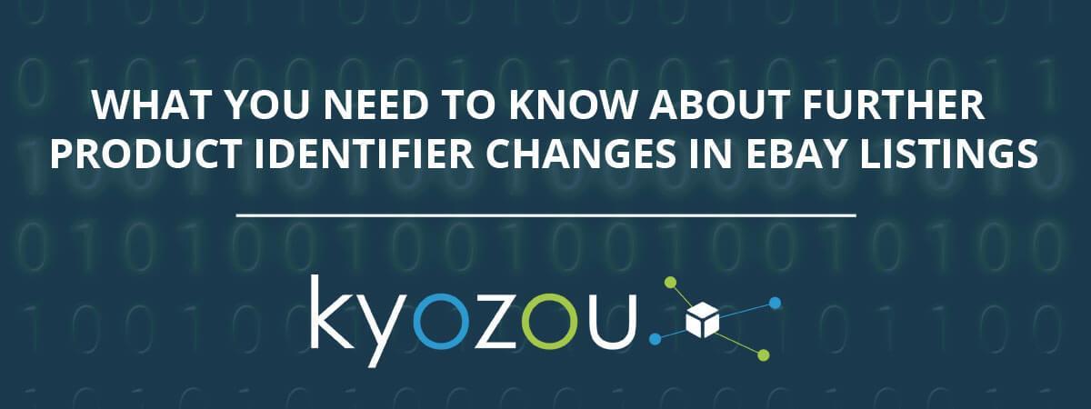 product identifier changes in ebay